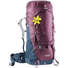 Рюкзак Deuter Aircontact 50 + 10 SL колір 5326 blackberry-navy (3320219 5326)