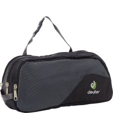 Косметичка Deuter Wash Bag Tour III колір 7410 black-granite (39444 7410)