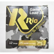 Патрон RIO Game Load-36 FW NEW 12/70 (5), 36 г б/к (1441.02.51)