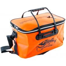 Fishing bag EVA. Orange-L