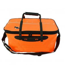 Fishing bag EVA. Orange-S